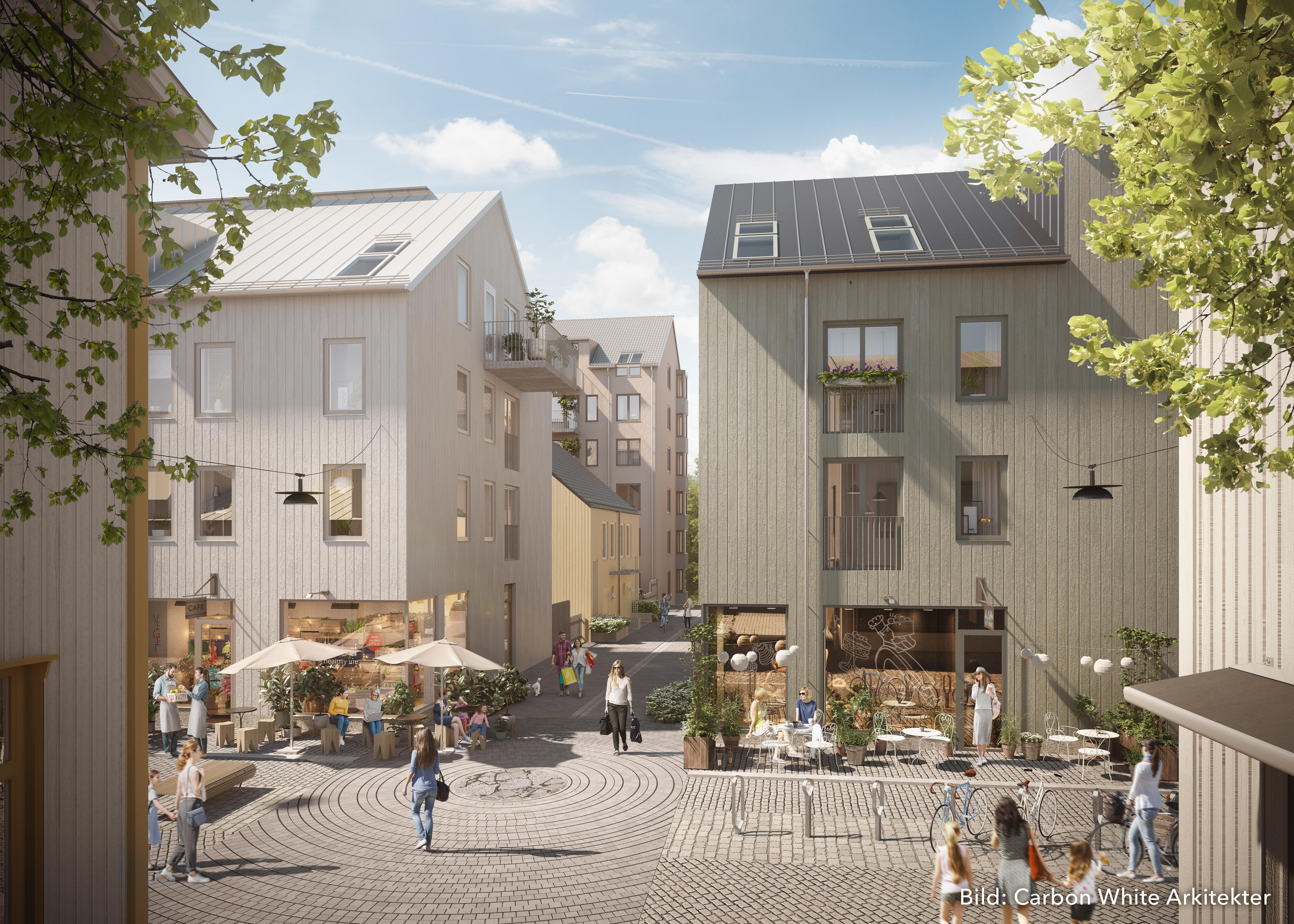 Visualisering Västra gatan, Kungälv