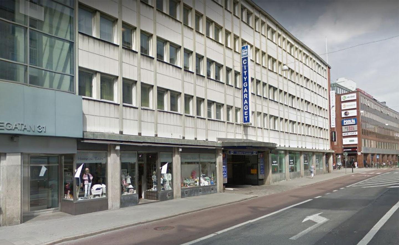 Parkering och garage i centrala Malmö