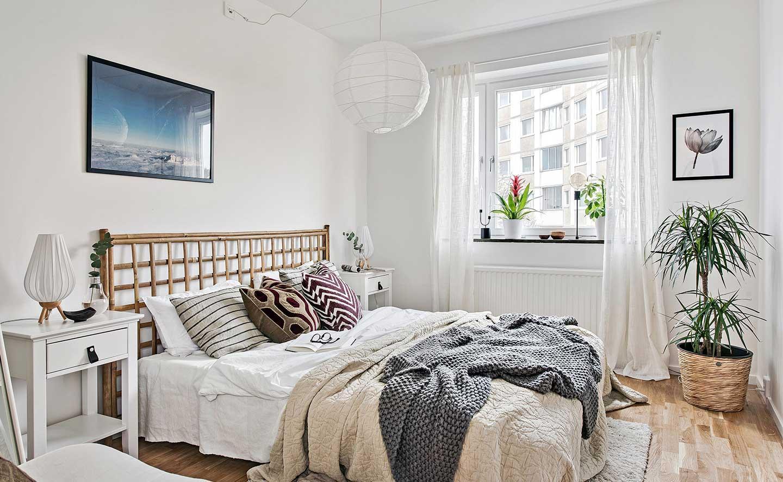 Inspirerande sovrum i hyresrätt Balder