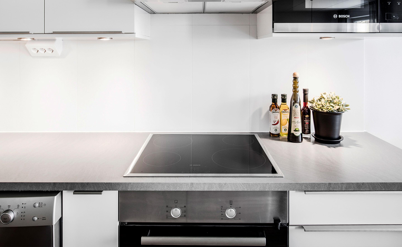 fint kök i en av Balders nyproducerade hyresrätter i Helsingborg